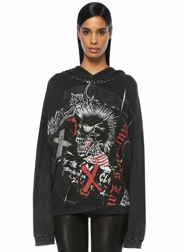 The Kooples Sweatshirt Siyah